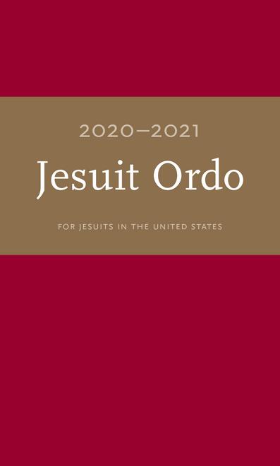Jesuit Ordo 2020-2021 cover