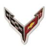 NEXT GENERATION C8 CORVETTE FLAG LAPEL PIN