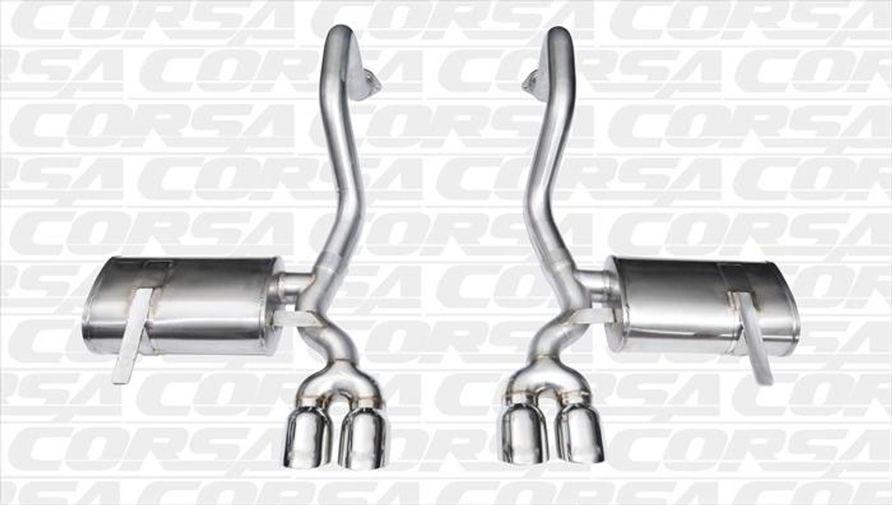 C5 CORSA XTREME AXLE-BACK EXHAUST SYSTEM