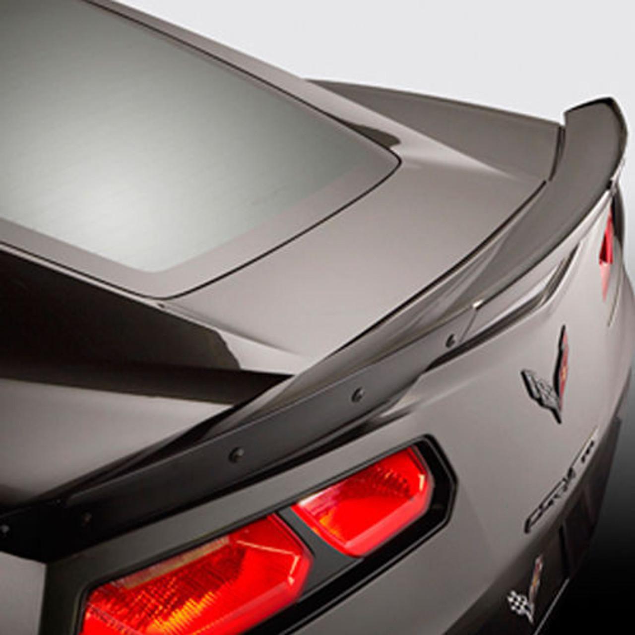 C7 Gm Z06 Rear Spoiler Carbon Flash Corvette World Parts