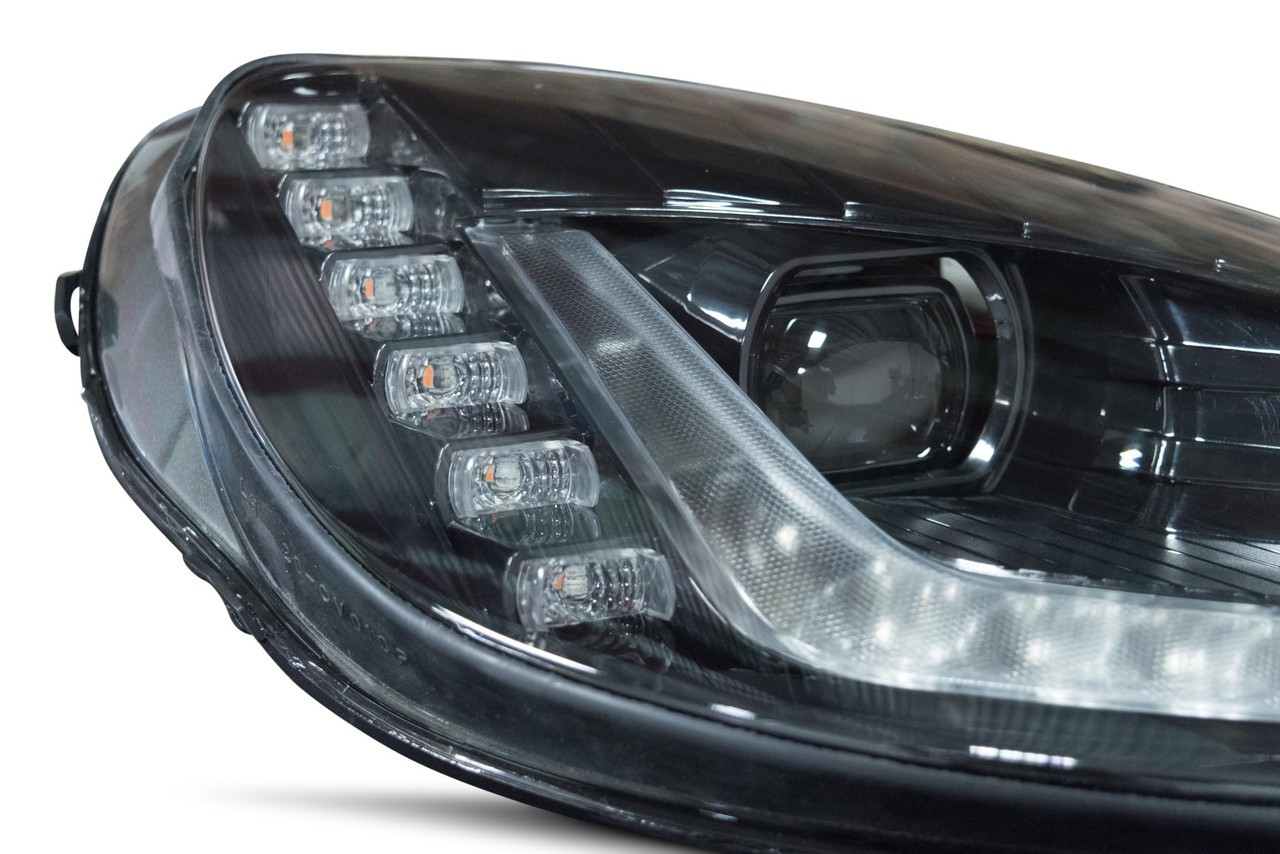 Morimoto XB LED C7 Style Headlights For C6 Models INSTALLED