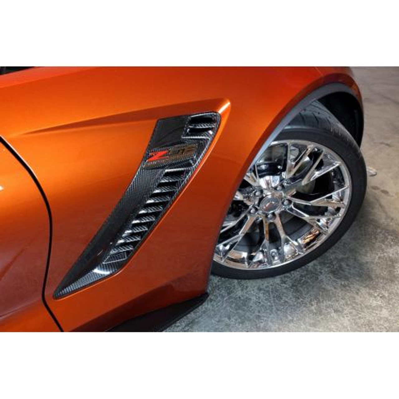 CARBON FIBER FRONT FENDER VENTS