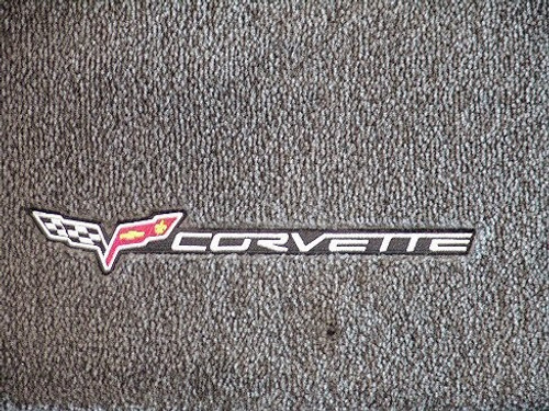 C6 Corvette Lloyds Floor Mats with Side Logo