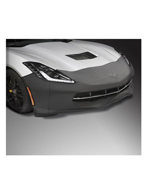 C7 Corvette Front End Cover/Bra W/Cross Flag Logo