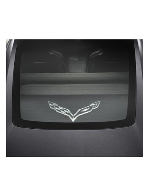 C7 Corvette Stingray Cargo Security Shade Upper and Lower