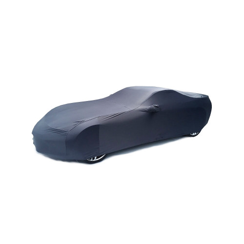 C7 Corvette Car Cover Shark Gray Super Stretch Indoor