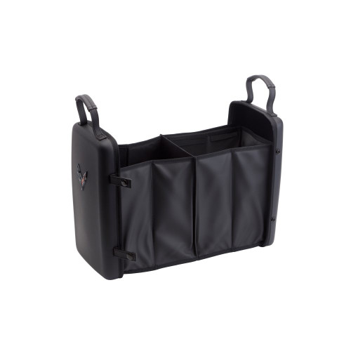 C8 Collapsible Cargo Organizer with Crossed Flags Logo
