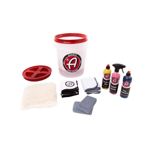 Wash and Wax Kit By Adam's Polishes