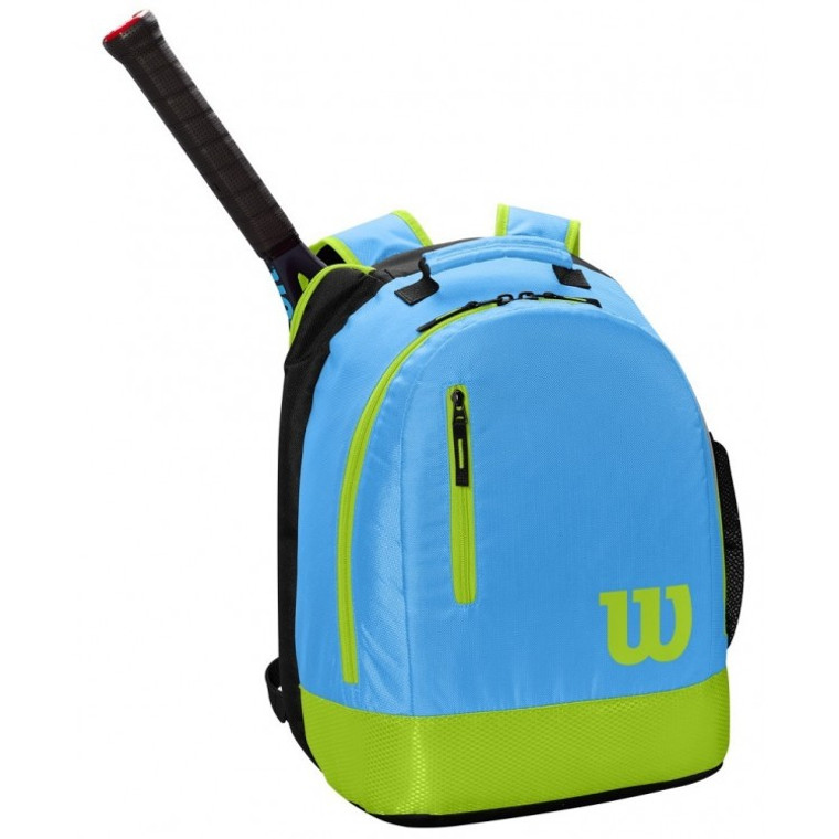 Wilson Junior/Youth Backpack - Blue/Lime