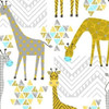 STAND TALL Geo Giraffes by Whistler Studios in White