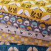 Dashwood Nest - Birds Linen in Light Grey