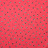 Dazzling Bees Cotton in Red