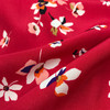 Floral Confetti Viscose in Red