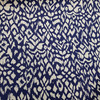 blue ikat cotton fabric