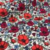 Poppy Field Cotton Poplin in Red