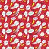Half Pint Heros - Kapow in Red Camelot Fabrics