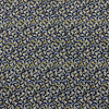 Bunches of Blooms in Blue Viscose Dressmaking Fabric