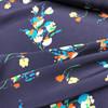 Brushstroke Blooms Viscose in Blue