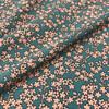 Lady McElroy Disney Floral Crepe in Teal