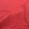 Dotty Double Gauze in Coral Dressmaking Fabric