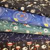 Lewis & irene light years space fabric Glow in the dark