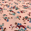 Vintage Blooms Cotton in Peach Dresmaking Fabric