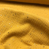 Golden Spec Double Gauze Cotton in Mustard