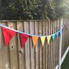 FREE Rainbow Bunting Project