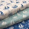 Thalassophile by Lewis & Irene - Boats in Dark Blue