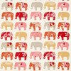 Oilcloth - Elephants in Spice