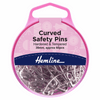curved safety pins quilting pins