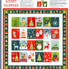 Joy by Makower - Advent Calendar Panel