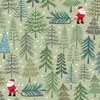 Christmas Trees by Lewis & Irene - Santa's Tree in Pale Green