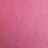 Tubular Cotton Ribbing Stripe in Pink