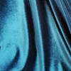 Midnight Stretch Velour in Turquoise