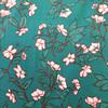 floral trail viscose crepe
