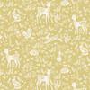 Clara by Makower - Animals in Yellow