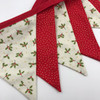 Christmas Bunting Kit - Holly and Sparkle