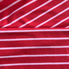 Yarn Dye Stripe Sweatshirt in Red/Rose