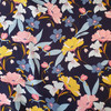 night blooming floral  in navy