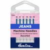 hemline jeans needles