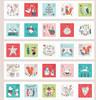 Dashwood Festive Critters Advent Calendar Kit