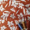 Wildflower Linen Viscose in Cinnamon