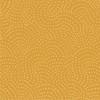 Twist Spot Cotton Fabric in Gold