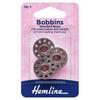 Machine Bobbins- metal front loading 15K