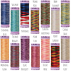 Mettler variegated cotton thread