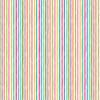 Katie's Cat Chalky Stripe in Rainbow