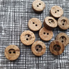 Coconut Shell Button 13mm