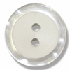 Blouse Button 11mm in Pearl White
