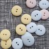 Matte 2-hole Buttons 18mm- Assorted Colours